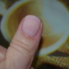 Эффект после нанесения на ногтевую пластину