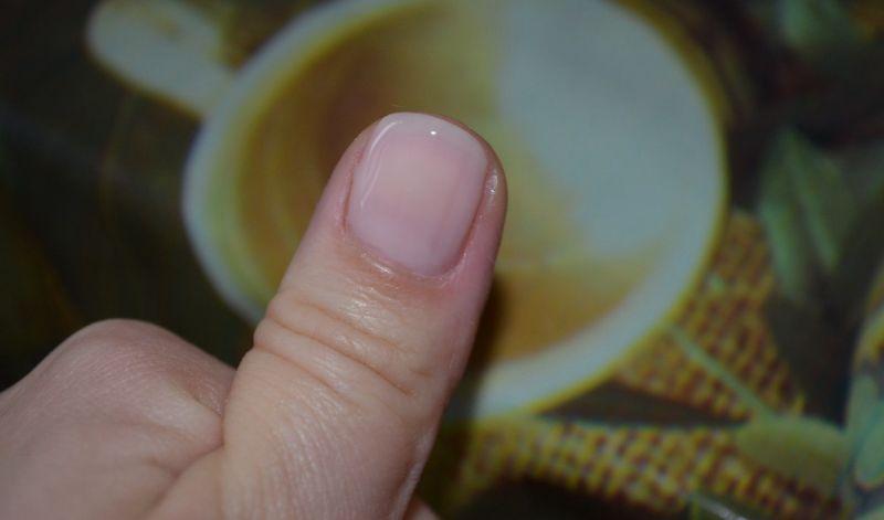 эффект на ногтях