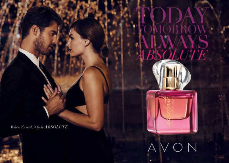 Avon Today Tomorrow Always Absolute в рекламе
