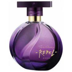 Женский одеколон в фиолетовом стеклянном флаконе
