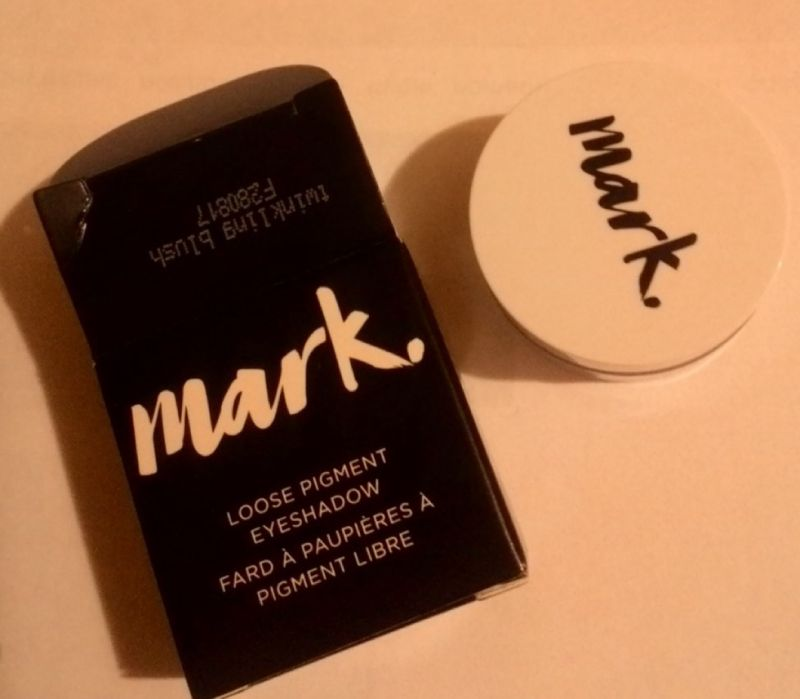 Рассыпчатые тени–пигмент для век Avon Mark