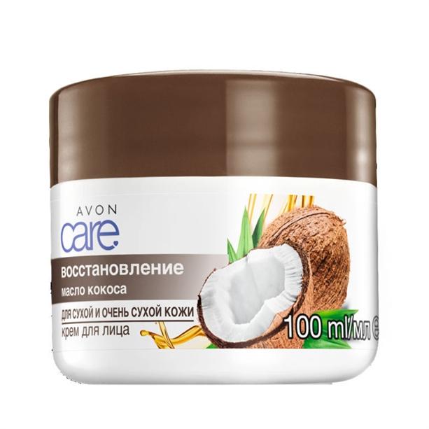 Крем для лица Avon Care «Масло кокоса. Восстановление»