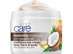 Крем для лица и тела Avon Care «Масло кокоса. Восстановление»