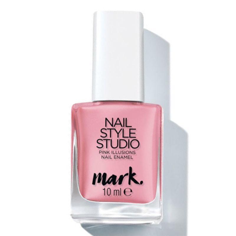 Лак для ногтей Avon Mark «Гель-эффект. Розовая иллюзия»