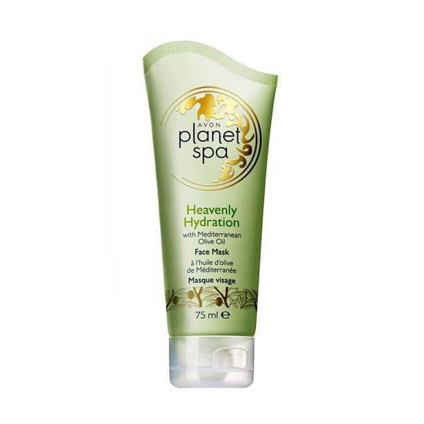 Маска для лица Avon Planet SPA с маслом оливы «Райское увлажнение»