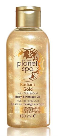 Массажное масло для тела Avon Planet SPA «Сияющее золото»