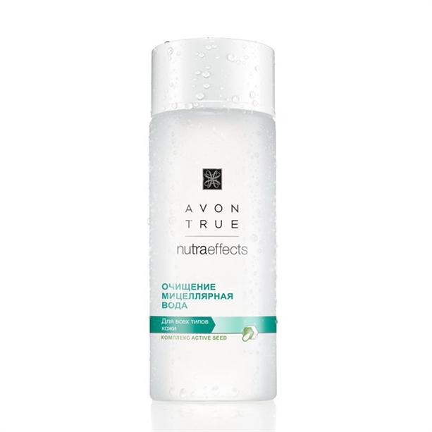 Мицеллярная вода Avon True Nutraeffects Очищение