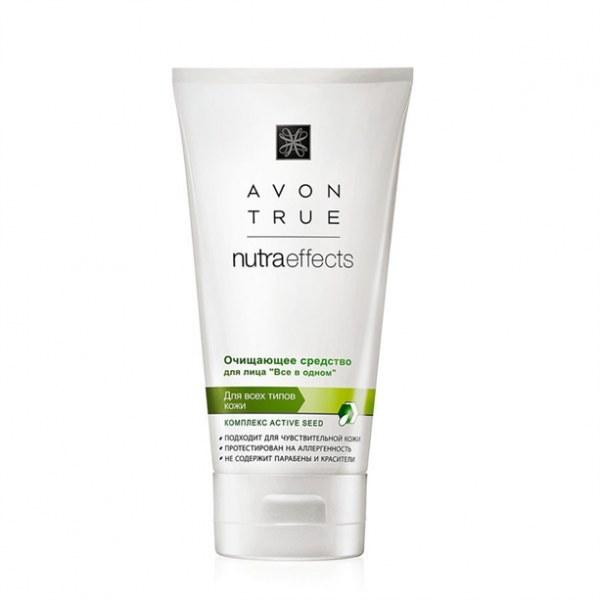 Очищающее средство для лица Avon True NutraEffects «Все в одном»