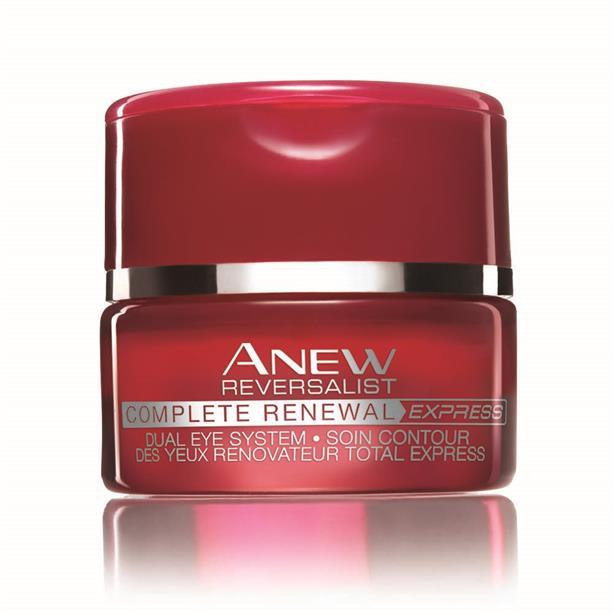 Система для кожи вокруг глаз Avon ANEW Обновление крем и бальзам