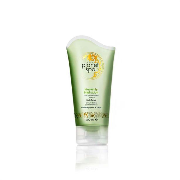 Скраб для тела Avon Planet SPA с маслом оливы «Райское увлажнение»