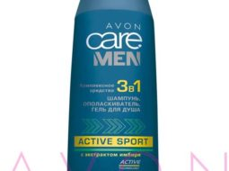 Средство для волос 3 в 1 AVON Care Men Active Sport