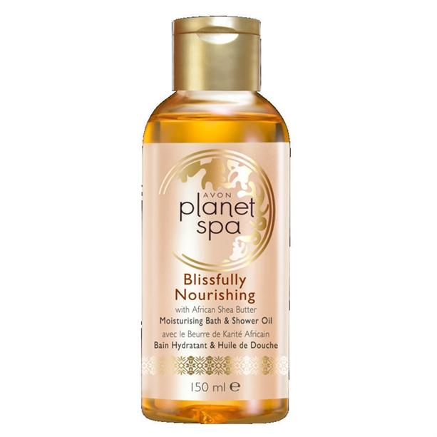 Увлажняющее масло для душа и ванн Avon Planet SPA «Непревзойденное питание»