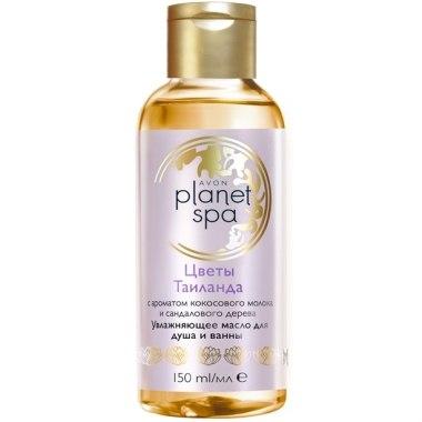 Увлажняющее масло для душа и ванны Avon Planet SPA «Цветы Таиланда»