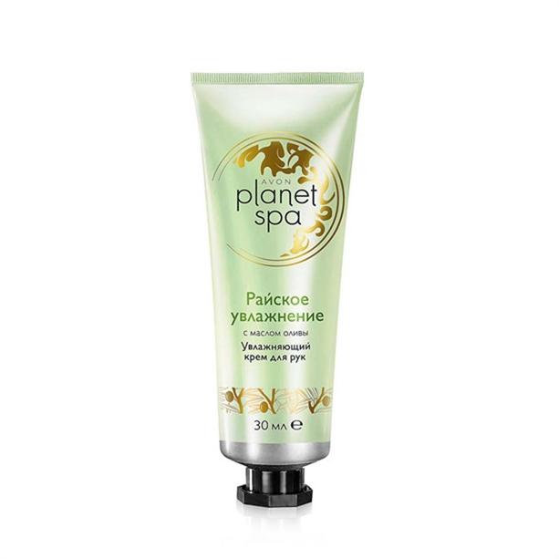Увлажняющий крем для рук Avon Planet SPA с маслом оливы «Райское увлажнение»