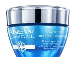 Ночной крем для лица глубокого действия Avon ANEW «Защита и восстановление»